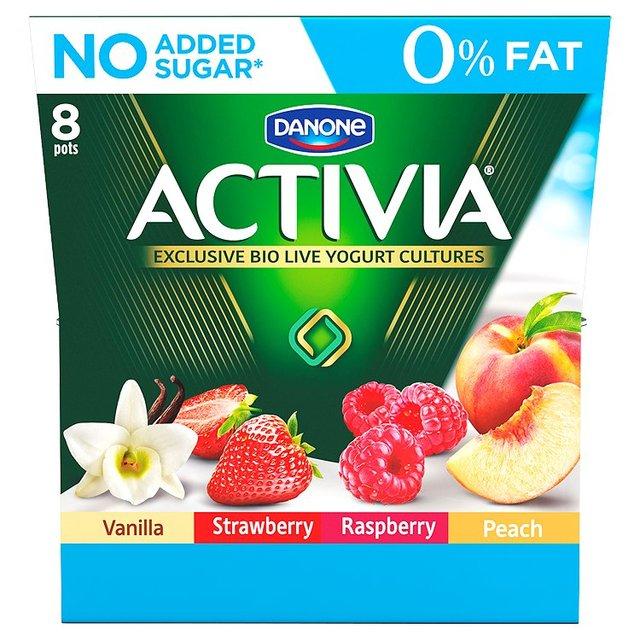 Activia 0% Fat (8 pack) Half Price £1.45 @ Ocado