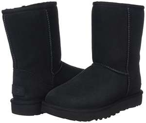 UGG Australia Women's Classic Short Ii Blk Boots - 50% off at Amazon - £82.50