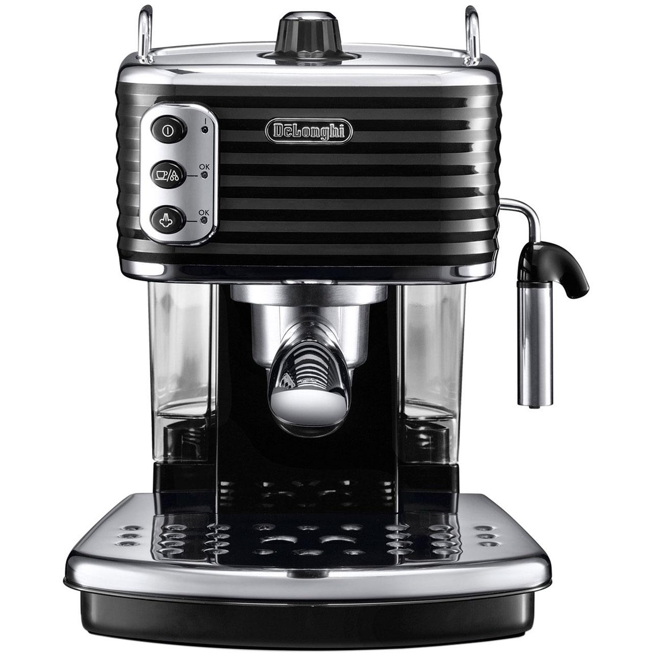 De'Longhi Scultura ECZ351.BK Espresso Coffee Machine - Black £129 (£79 after £50 cashback from AO) @ AO