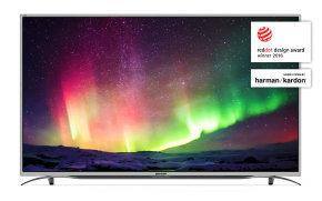 "Sharp LC-55CUG8362KS 55"" 4K UHD Smart LED TV With Freeview £409.98 Ebuyer"