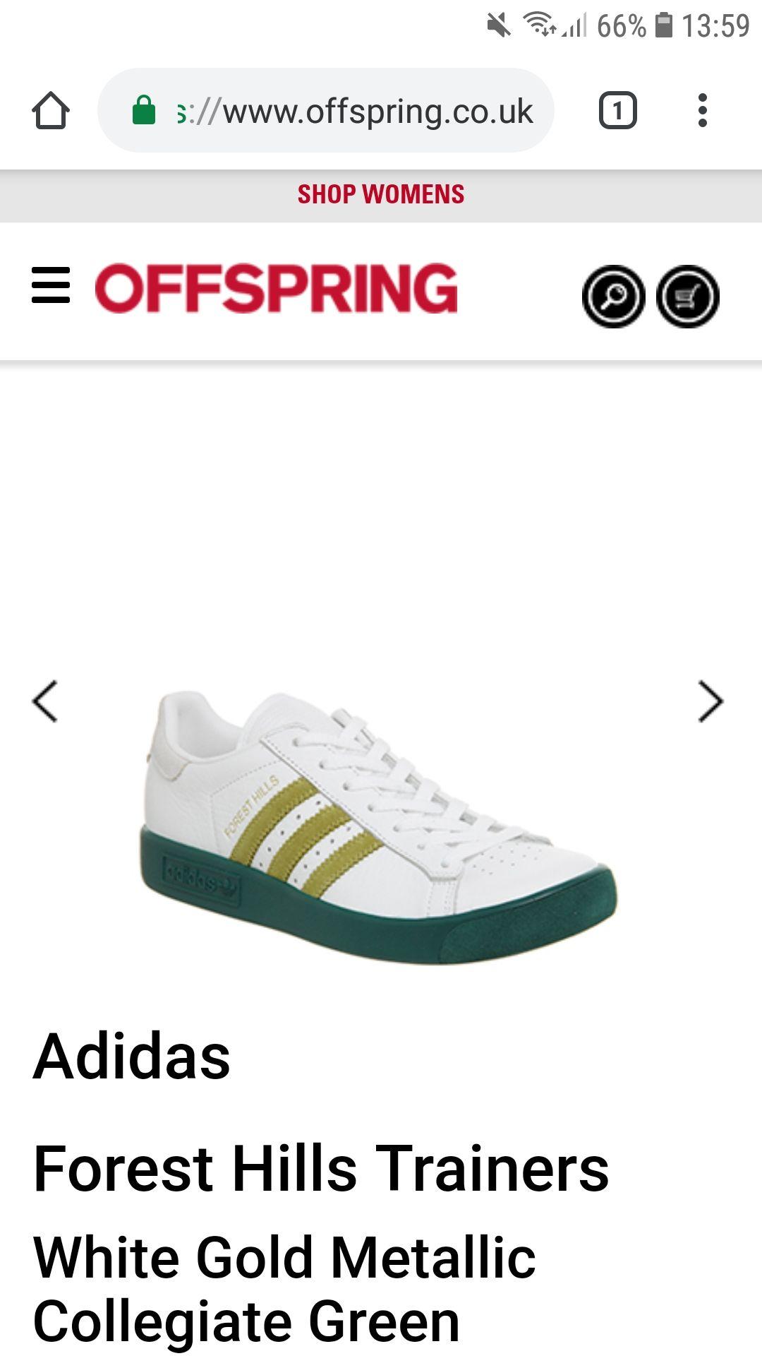 Adidas Forest Hills £45 @ Offspring - Free c&c
