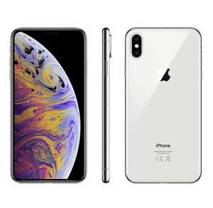 Apple iPhone XS 64GB Dual sim (nano-SIM & eSIM) SIM FREE/ UNLOCKED - Silver for £899.99 (using £10 signup voucher) @ eGlobal Central