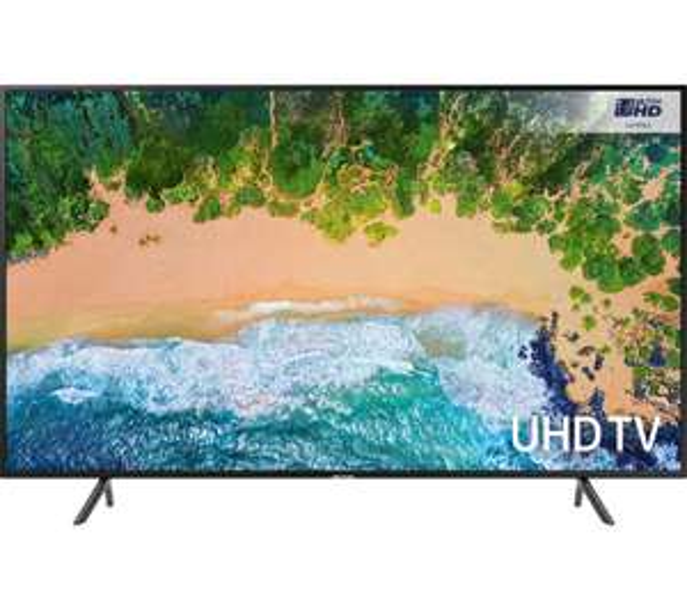 "SAMSUNG UE40NU7120 40"" Smart 4K Ultra HD HDR LED TV £399 @ currys - c&c only"