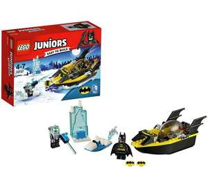 LEGO Juniors Batman Vs Mr Freeze £12.99 or 2 for £15 at Argos (More Lego Sets included)