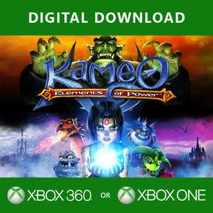 Kameo Elements Of Power Xbox One / Xbox 360 Game Digital Download - £0.50 @ 365 Games
