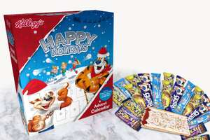 Kelloggs cereal bar advent calendar with 24 cereal bars and 2 pop tarts £8.99 @ B&M Bargains