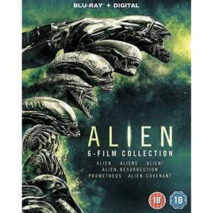 Alien: 6 Film Collection Blu-ray + UV =  £12.99 delivered @ 365games