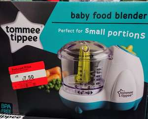 Tomee Tippee food processor £7.50 instore @ Asda