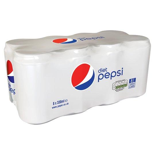 All No Sugar Pepsi varieties - 8 pack cans (330ml) £2.50 Asda