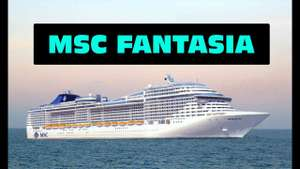Flights for £1 when booking a europe cruise for 7 nights @ £900 per person - MSC Cruises