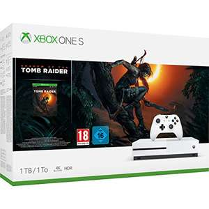 Xbox One S 1TB + Shadow Of The Tomb Raider £179.61 / Xbox One X + Shadow Of The Tomb Raider £355.61 @ Amazon Spain