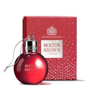 75ml Shower Gel Bauble £10 + Free 30ml Sample + Free Gift Box + Free C+C + Free Hand / Arm Massage @ Molton Brown