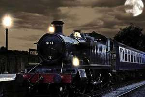 Family of 4 Ticket to Epping Ongar Railway's 'Steam and Scream' Halloween ghost train 28th Oct £29 via Wowcher