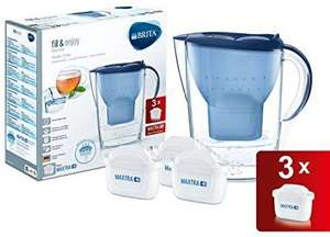BRITA Marella Cool Water Filter Jug and 3 Cartridges Prime £17.99 / £22.48 Non Prime Amazon