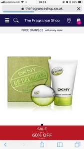 Dkny be delicious 30ml gift set £16 with code Fragrance Shop - £1.99 c &c