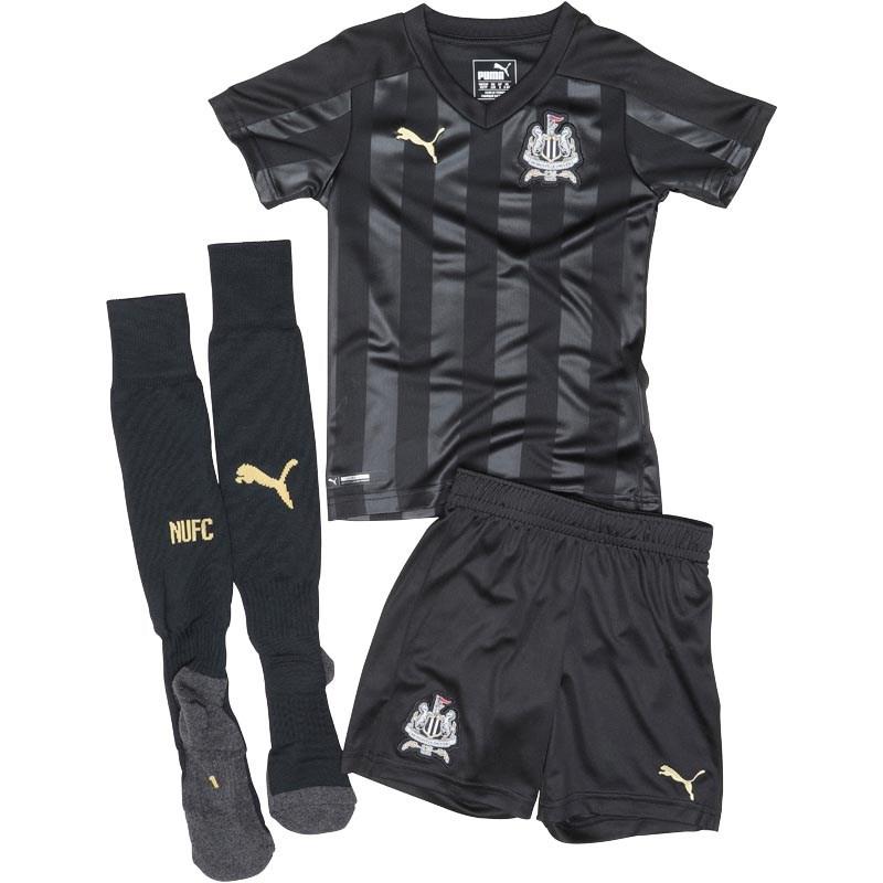 Puma Infant Boys NUFC Newcastle Third Mini Kit Puma Black £14.99 + £4.99 del at MandM Direct