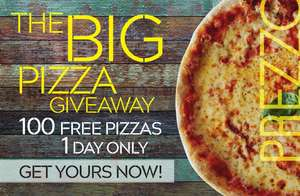 Free Pizza Giveaway @ Prezzo in Northampton