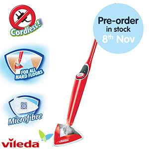 RSP 49.99 save £40 only £9.99 / £13.48 delivered  vileda 100 deg hot spray mop @ Home bargains