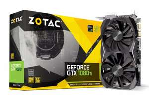 Zotac GTX 1080 Ti 11GB Mini Graphics Card £609.99 @ Ebuyer (£604.99 with visa checkout) possible 1% quidco, 1.5% tcb