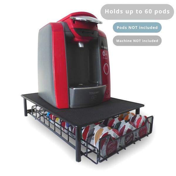 Tassimo 60 Coffee Pod Storage Drawer & Machine Stand £7.99 Del w/code (Nespresso version £8.99) @ Shop4World