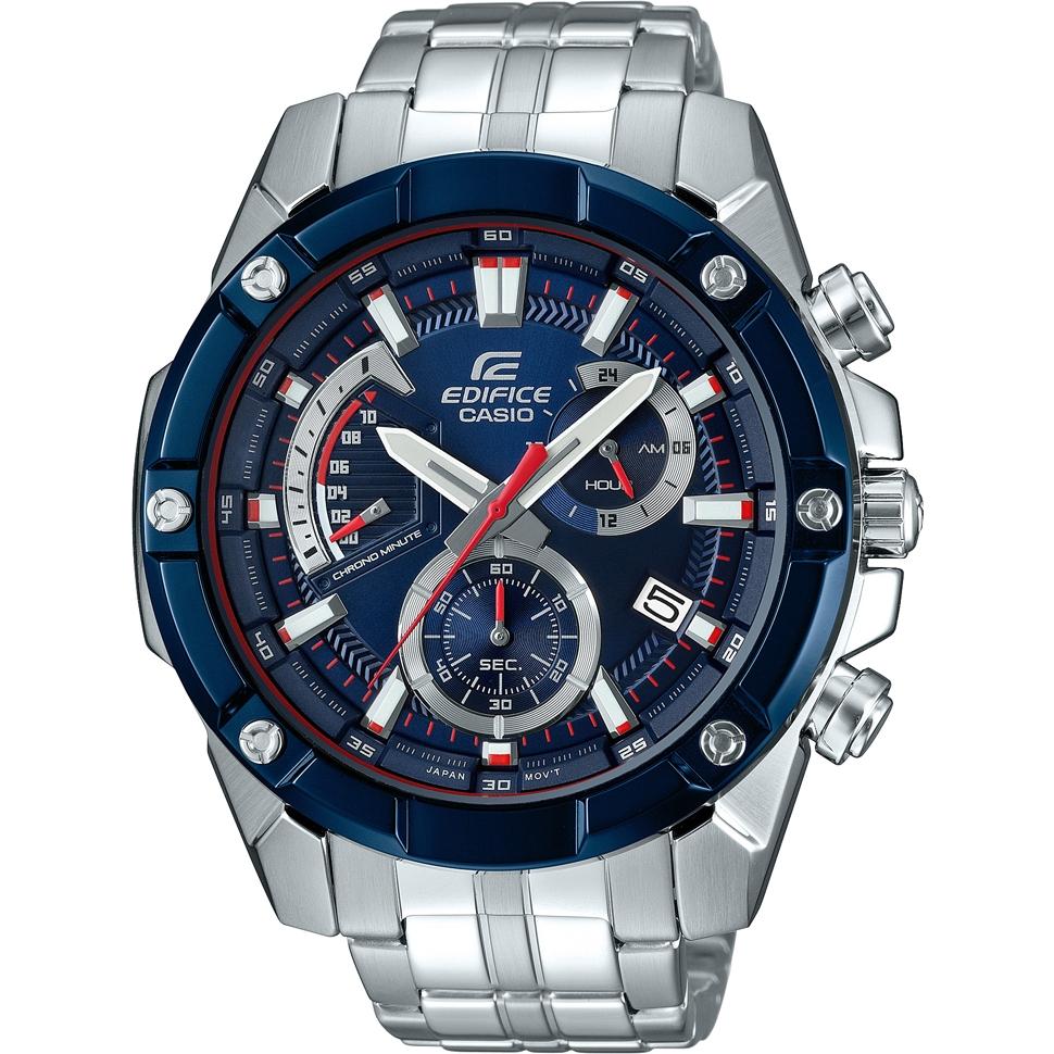 Casio Edifice Men's Toro Rosso Steel Bracelet Watch, £104 at H. samuel