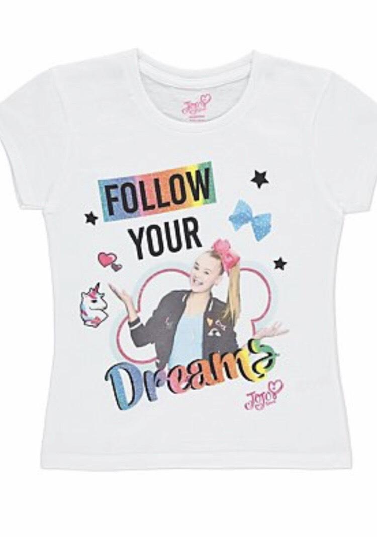 JoJo Siwa T-shirt £3 free c+c Asda