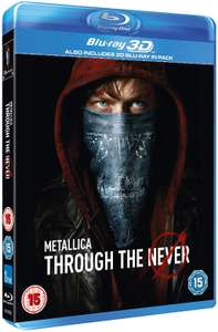 Metallica Through the Never [3D Blu-ray & Blu-ray] £6.99 delivered @ The Entertainment Store / Ebay