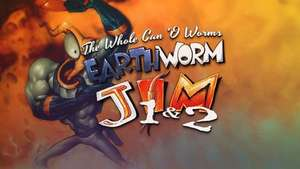 Earthworm Jim 1+2: The Whole Can 'O Worms GOG Key £2.69 @ GOG