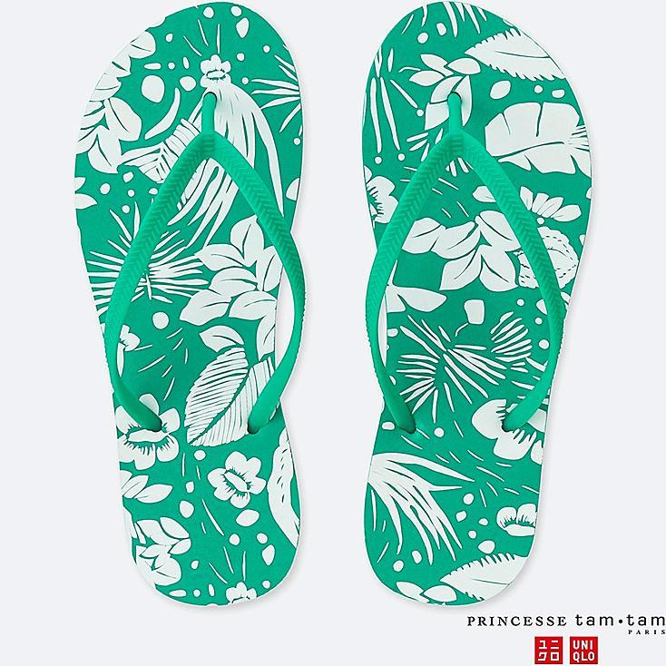 WOMEN PRINCESSE TAM.TAM BEACH SANDALS (FLOWER) for £2.90 @ Uniqlo (free C&C)