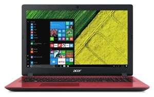 Acer 15.6 Inch HD Intel i3 2GHz 8GB 1TB Windows Laptop - Red - £350.99 @ Argos eBay Store