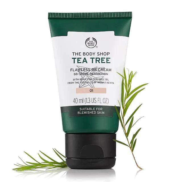 Tea Tree Flawless BB Cream for £2 Free C&C  @TheBodyShop