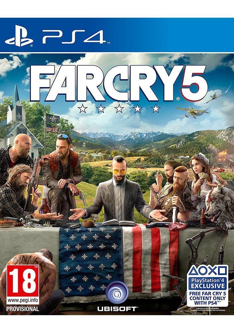 Far Cry 5 (PS4/XB1) £24.85 @ SimplyGames