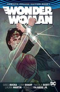 Comixology (digital comics) - Wonder Woman: The Rebirth Deluxe Edition Book 1 and 2 £3.99 each