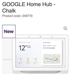 Google Home Hub pre order £139 exclusively at Currys!