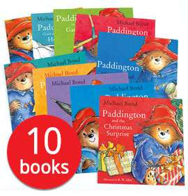 Paddington Collection - 10 Books £10 / Julia Donaldson Picture Book Collection - 10 Books + Tote Bag £11 Del w/code @ The Book People