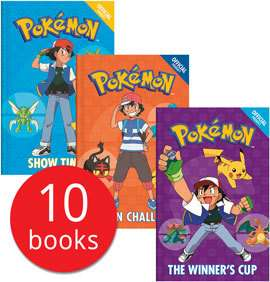 Official Pokemon Collection - 10 Books £11.99 Delivered w/code @ The Book People
