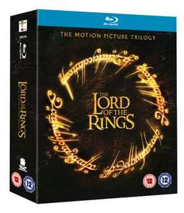 Lord of the Rings Theatrical Trilogy Blu Rays and DVDs £10 (Prime) / £12.99 non prime @ Amazon