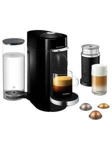 Nespresso Vertuo Plus Coffee Maker including the Aeroccino milk frother - £129.99 @ John Lewis & partners Possible misprice - usually 179.99
