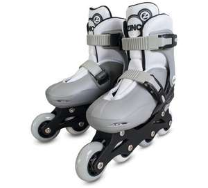 Zinc Adjustable Quad Boots in Blue OR Roller Skates Grey (was £29.99) Now £12.99 at Argos