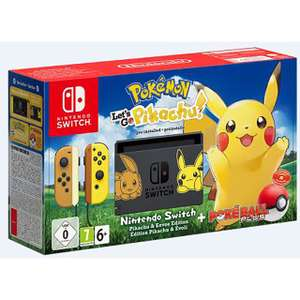 Nintendo Switch Pokémon Let's Go Pikachu! / Eevee Limited Edition Pre-order £319 w/code (new account) @ AO