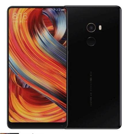 Xiaomi MIX 2 6GB/128GB 4G Dual Sim SIM FREE/ UNLOCKED - Black £221.99 @ TobyDeals