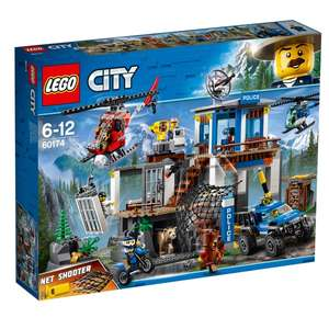 LEGO 60174 City Police Mountain Headquarters @smyths