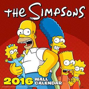 Official The Simpsons 2016 Square Wall Calendar (can be used in future years) £2.60 prime / £5.59 non prime @ Amazon