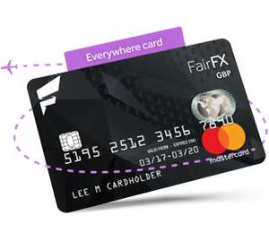 FairFX pre paid card. Free £35 with no purchase necessary. - An extra £15 over groupon - £500 top-up required