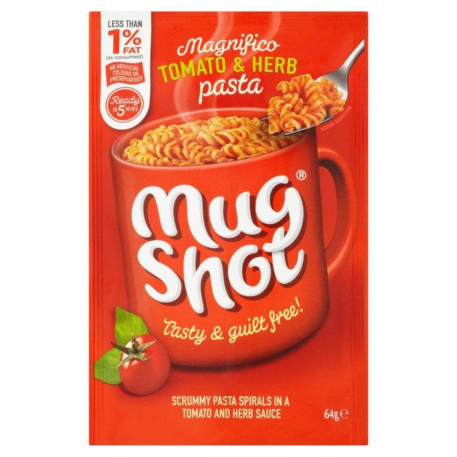 Mug Shot Tomato & Herb Pasta 64g,4 For £1 @ Heron Foods