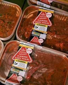New Flaming Fiery Phaal Curry 350g with Scorpion Chillis £2 @ Morrisons instore