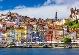 4 nights in Porto, Portugal for £102 each (£204 total) including flights and 3* river view apartments @ Ebookers
