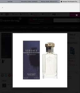 Versace The Dreamer For Him Eau de Toilette 100ml - £18.70 @ Superdrug