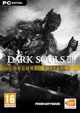 Dark Souls III 3 - Deluxe Edition Inc Game + Season Pass PC Steam Key £10.20 with code @ Voidu