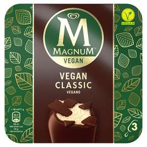 Vegan Magnum Classic & Almond now £2 Tesco with voucher only £1!